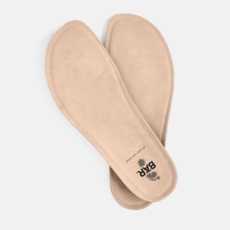 Footbed Cork Latex Regular women - natur